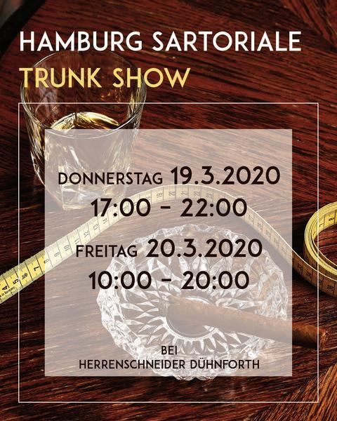 Hamburg Sartoriale Trunk Show
