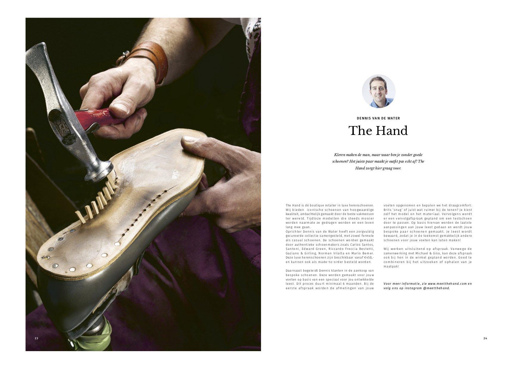 Dennis van de Water The Hand in Bon Voyage Magazine Michael & Giso
